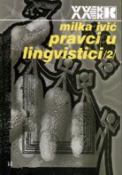 milka ivic - pravci u lingvistici 2