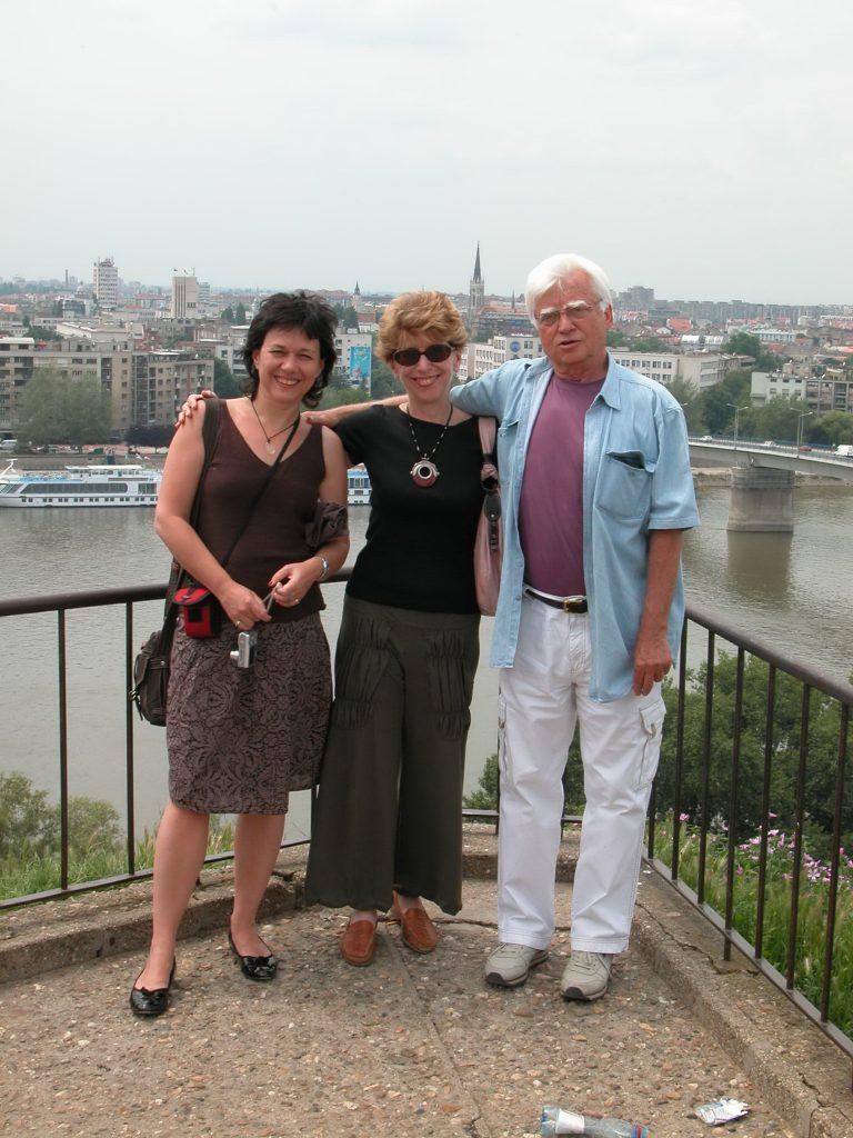 Marija Todorova, Dubravka Stojanović i Ivan Čolović, Petrovaradin, jun 2007.